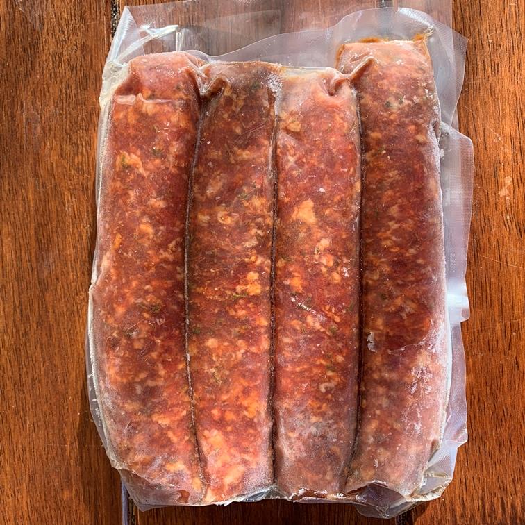 Saucisses d'agneau - Italienne douce